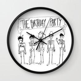 The Birthday Party Wall Clock