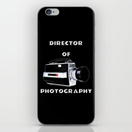 Director Of Photography iPhone Skin