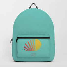 The Sun Will Rise Again Backpack