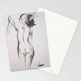 Leipzig lady Stationery Cards