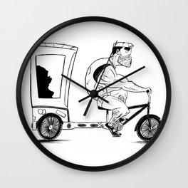 Pedicab Wall Clock