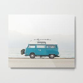 Malibu Roadtrip Metal Print