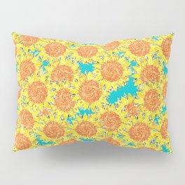 sunflower field Pillow Sham