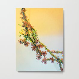 Crystalline Flowers Metal Print