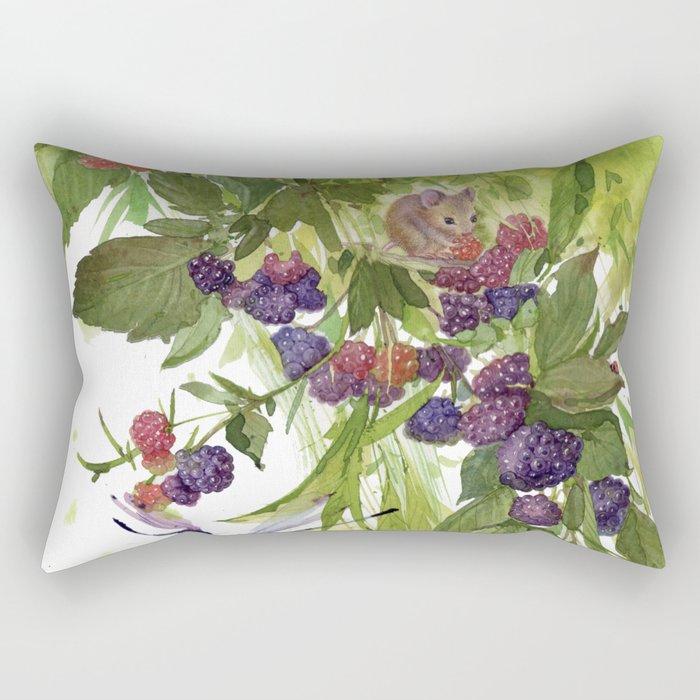 Spring cuteness Rectangular Pillow