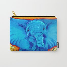 Cheeky the Happy Elephant Carry-All Pouch