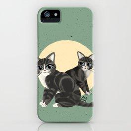 Lovely kitties iPhone Case