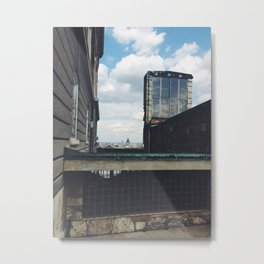 Budapest Buildings Metal Print