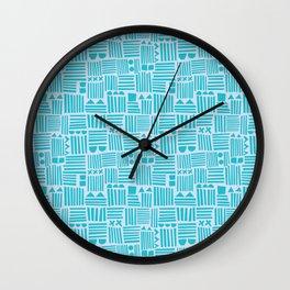 Stack Up Wall Clock