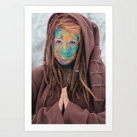 One of the Rainbow Warriors  Art Print