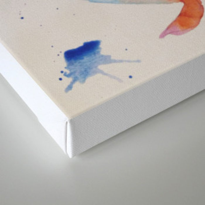 Koi canvas print by awaywego society6 for Koi prints canvas
