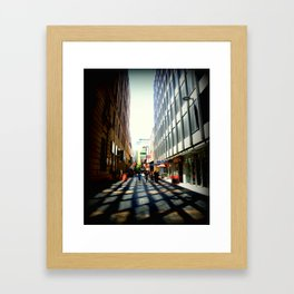 Australian Capital Cities - Adelaide - South Australia Framed Art Print