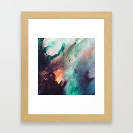 Burnin love Framed Art Print