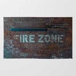 The (F) Ire Zone Rug