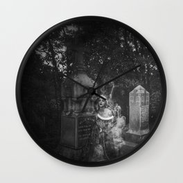 The Beautiful Ghost Wall Clock