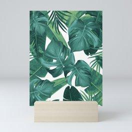 Tropical Summer Jungle Leaves Dream #2 #tropical #decor #art #society6 Mini Art Print