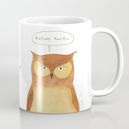 This owl thinks you're great Coffee Mug
