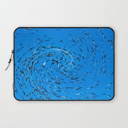 Whirling water Laptop Sleeve