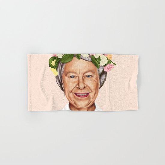 Hipstory - Queen Elizabeth Hand & Bath Towel