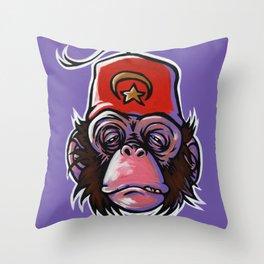 Shriner Monkey Throw Pillow