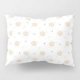 Lion Pattern Pillow Sham