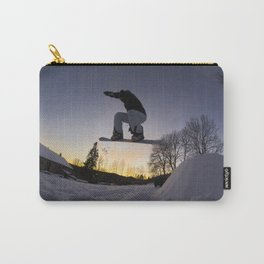"Surf sur le Crépuscule d'une Nuit d'Hiver"" // Surfing the Twilight of a Winter's Night Carry-All Pouch"