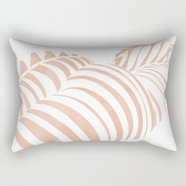 white shadow Rectangular Pillow