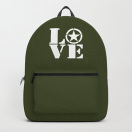 Army Love Backpack