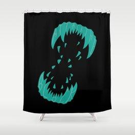 Big Alien Gorilla-Wolf Mother... Shower Curtain