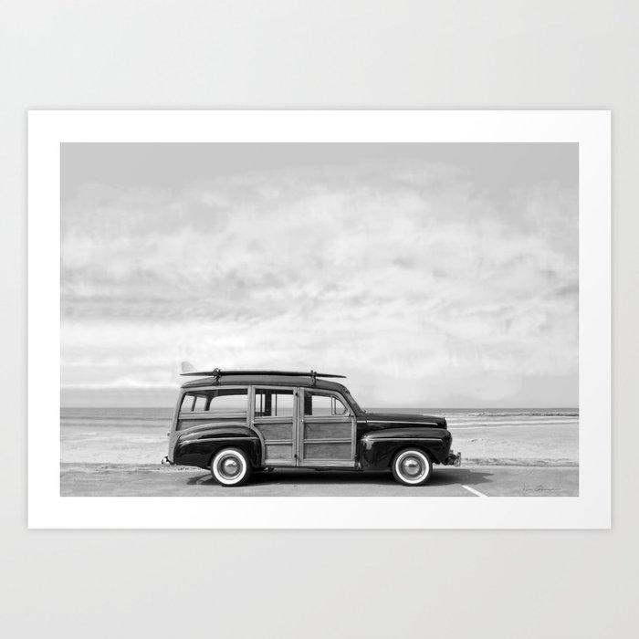 1948 Woody Wagon Kunstdrucke