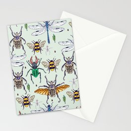 lucky insects Stationery Cards