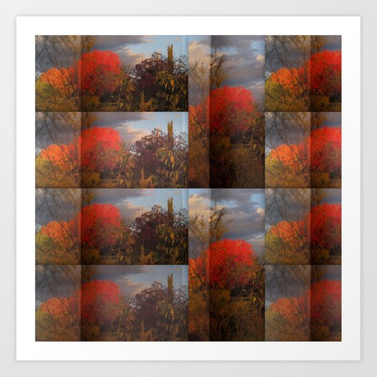 Subdivision 5 Art Print