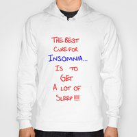 the cure Hoodies featuring The best cure for... by Brian Raggatt