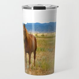Horsies  Travel Mug