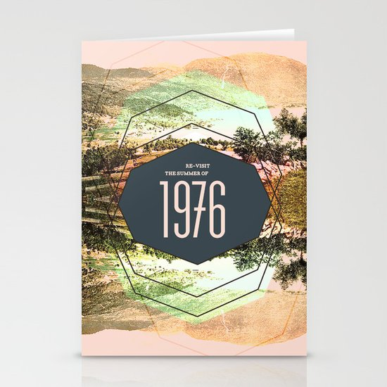 Summer of 1976 Stationery Cards