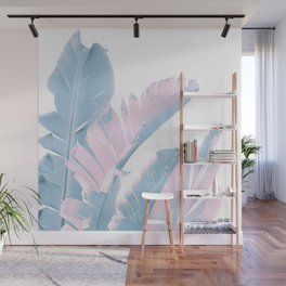 Banana Leaves Finesse #1 #tropical #decor #art #society6 Wall Mural