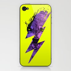 Thunderwolf iPhone & iPod Skin