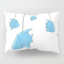 Papercraft Fish Mobile Pillow Sham