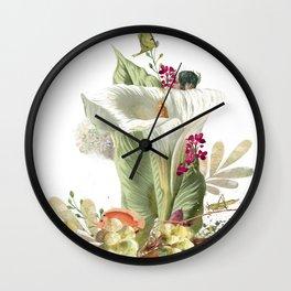 Magic Garden IX Wall Clock