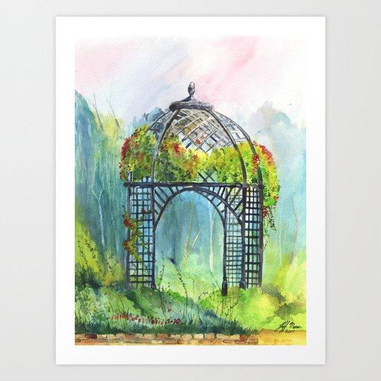 Descanso Gardens Art Print
