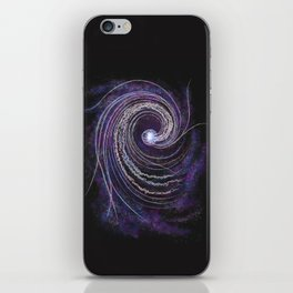 Deep Sea Cosmos iPhone Skin