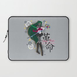 Soldier of Time and Revolution Laptop Sleeve