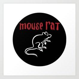 Mouse Rat - Parks and Rec Art Print