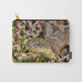 A Snake In The Moss Carry-All Pouch