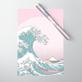 Great Wave Pastel Wrapping Paper