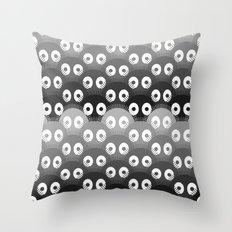 susuwatari pattern Throw Pillow