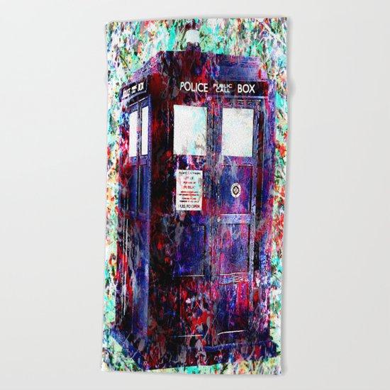 TARDIS Beach Towel