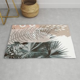 Warm Collage Tropical Rug