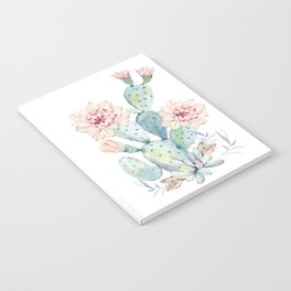 Prettiest Cactus Rose by Nature Magick Notebook