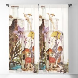 WITCH BOTTLES Blackout Curtain